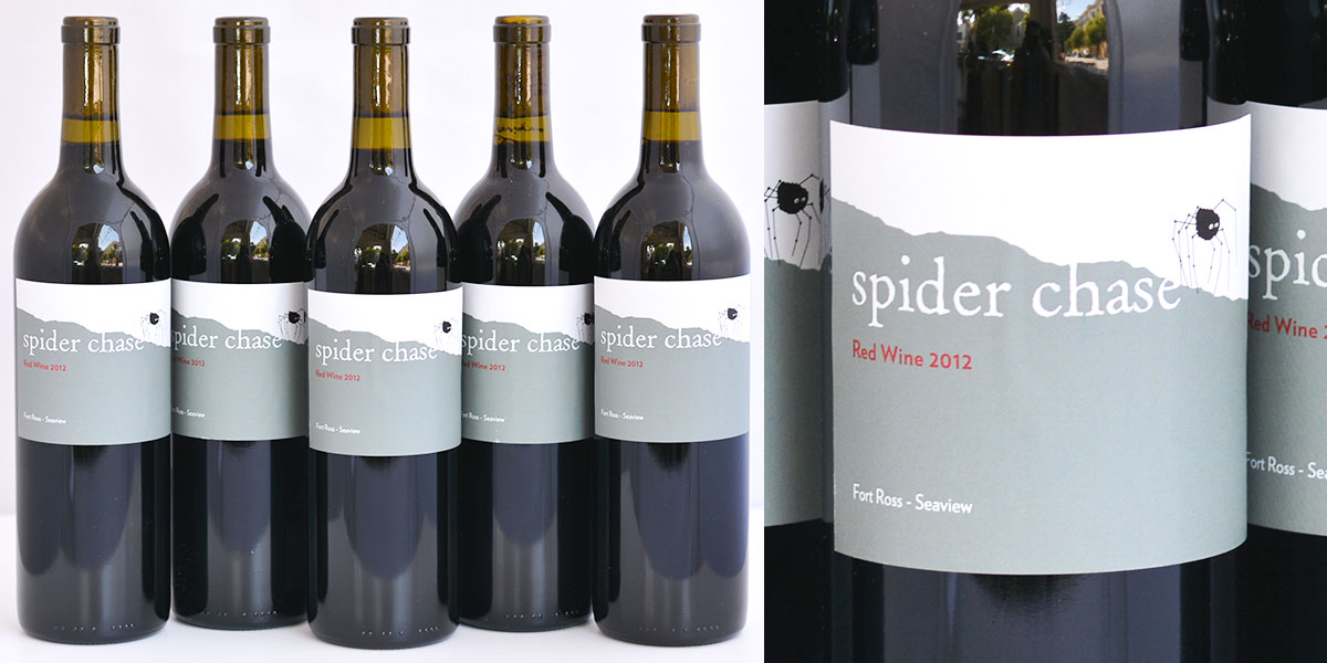 Spiderchase wine at Driver's Market in Sausalito