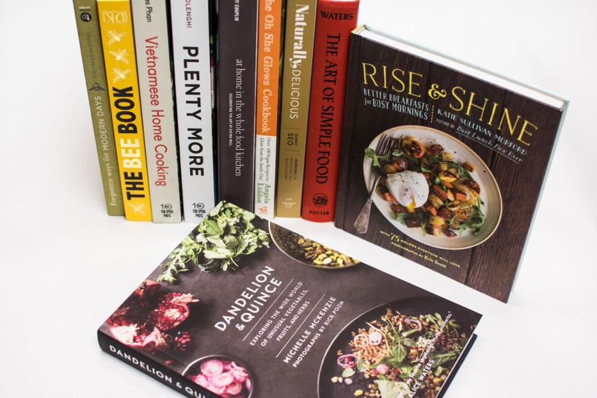 Cookbooks at Driver's Market