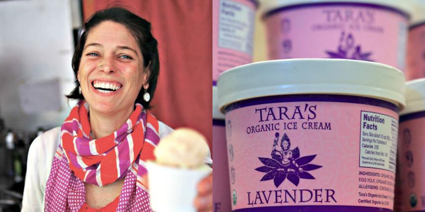 Tara's Organic Ice Cream | Driver's Market