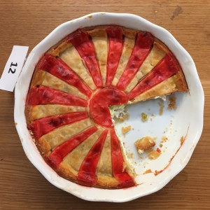 Peter and Francis Streitmann's stunning cheese pie.
