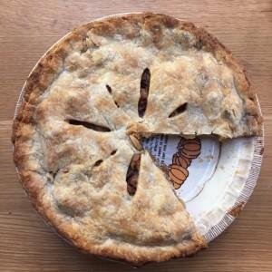 CJ Spady's delicious Apple Pie.