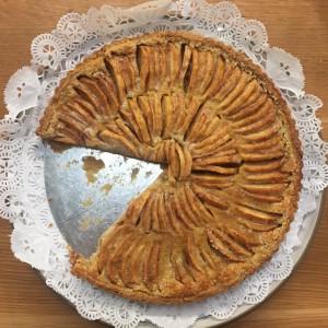 Ann Matranga's spectacular Apple Tart.